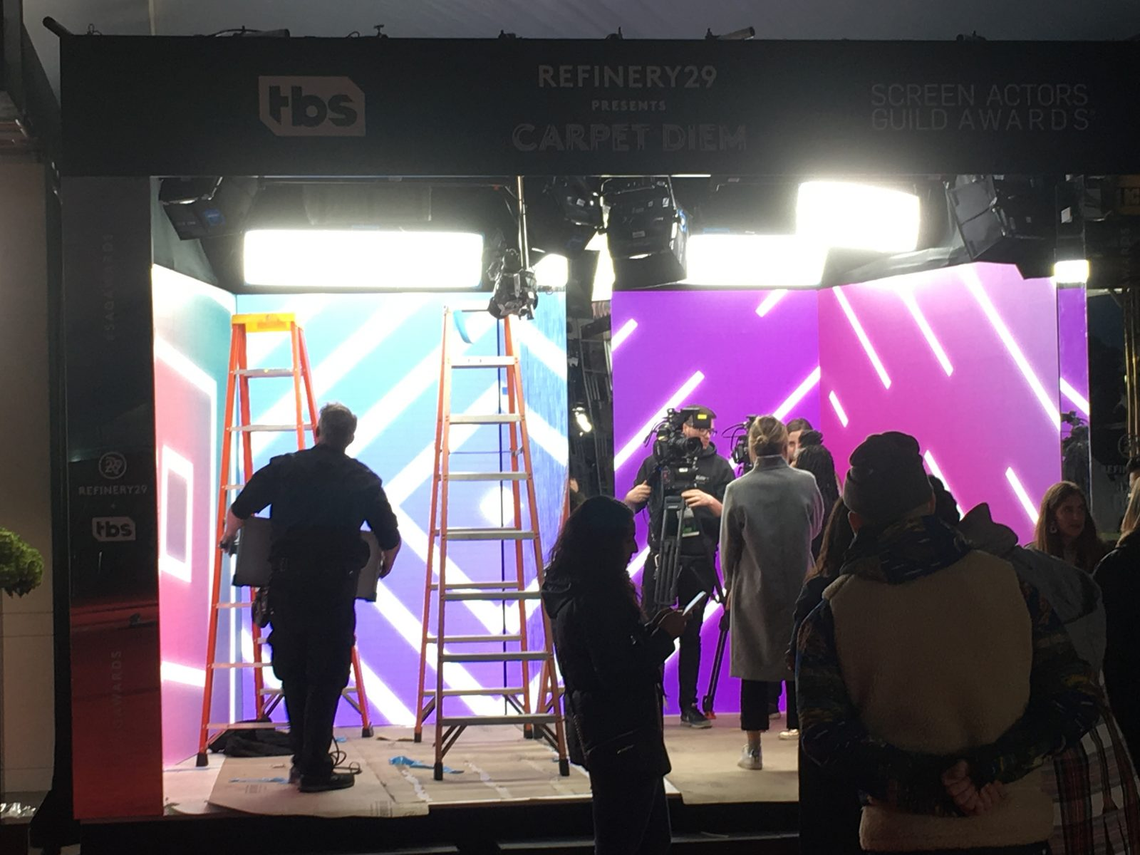 Refinery 29 - SAG - Set Up